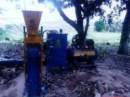 Máquina Tijolo Ecológico Hidropneumática