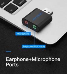 Título do anúncio: Placa de Som USB