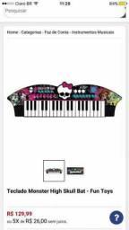 Teclado Monster High