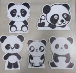 Título do anúncio: Display de mesa - Kit com 5 pandas em MDF