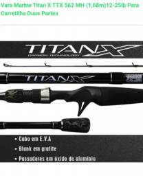 Título do anúncio: Vara Titan X 1,83m (12-25lb) 602MH Duas Partes