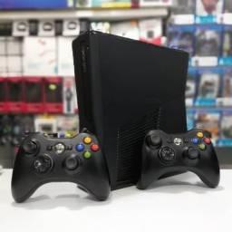 Xbox 360 Slim Completo - Pode Ser Seu