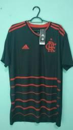 Camisa do Flamengo Preta Masculina 2020/21 - Em Estoque