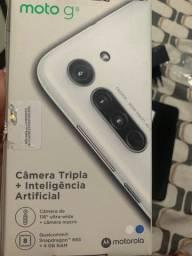 Título do anúncio: Motorola motoG8 na caixa com nota fiscal e garantia
