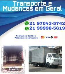Título do anúncio: Fretes  e Mudanças caminhão Baú - Itaguaí