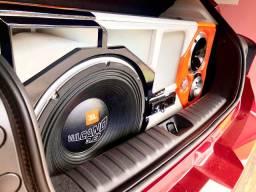 Vendo o som automotivo novo, Recém montando som de qualidade em tudo.
