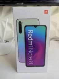 Oba! REDMI Note 8 da Xiaomi..Novo LACRADO Garantia entrega em mãos!