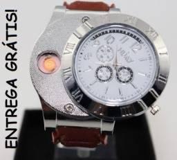 08f1ef0ea65 Relógio Isqueiro (Carrega via USB) Whatsapp 9 8609-8643