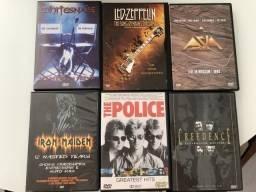 Kit com 11 DVDs musicais