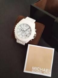 Relógio Michael Kors Branco Original ( Linha de luxo)