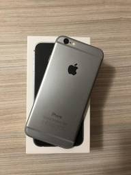 6 plus 128gb cinza