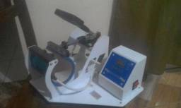 Maquina de estampar canecas semi nova