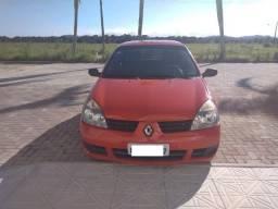Clio 2007/2008 vermelho - 88mil km! - Direção/Ar/Alarme/Trava/4 portas - Licenciado 2019 - 2008