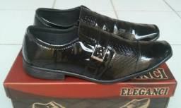 Sapato social masculino, novo, promoção, tamanhos 38 ao 43