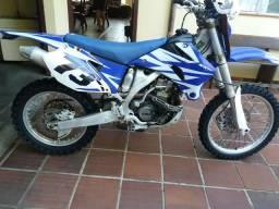 Moto de trilha Yamaha Wr250 - 2008