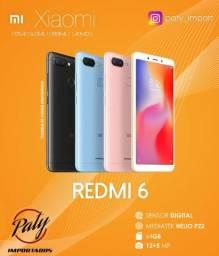 Xiaomi Redmi 6 64GB // Original // Pronta entrega // Versão global - Paty Impotados