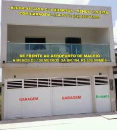 Aluga-se Casa Nova de frente ao aeroporto de Maceió
