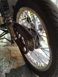 Troco roda de aço por uma de ferro - 2006