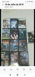 DVDs originais de rock