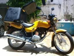 Moto cargo com bau 4000 - 2006