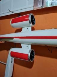 Aeromodelo learjet  eletrico  edf