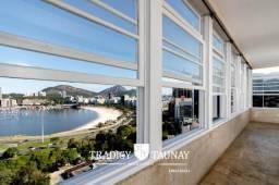 Botafogo, Praia de Botafogo, apartamento de 402m² com vista panorâmica, 6 quartos, 2 vagas