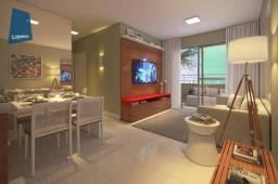 Apartamento com 2 dormitórios à venda, 61 m² por R$ 473.819,41 - De Lourdes - Fortaleza/CE