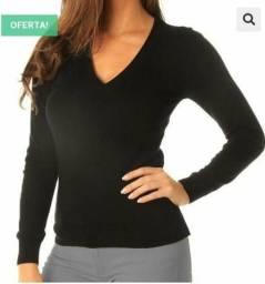 Suéter de Frio Gola V