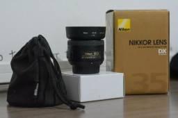 Lente Nikon AF-S Nikkor 35mm 1.8