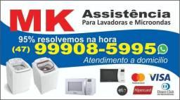 Assistência p/ lavadoras e microondas