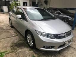 Honda Civic lxs 2013/2014 automático, único dono - 2014