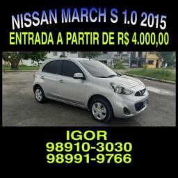 A sua loja em Belém! Nissan March 1.0 S FLEX 2015, falar com Igor - 2015