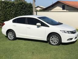 Vendo Honda Civic LXR 2.0 - 2014 - Branco - 2014