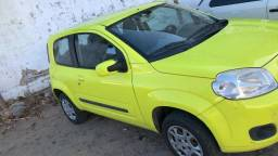 Fiat uno 1.4 ano 2012 com ar condicionado trava e alarme - 2012