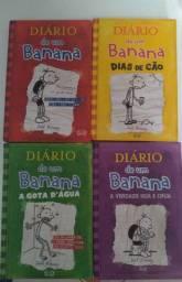 Vende-se livros Diário de um Banana