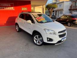 Gm chevrolet tracker 2014 ltz branca top com teto