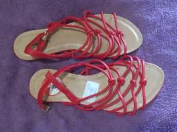 Sandália rasteirinha Sapatela e Sapato Le Chic