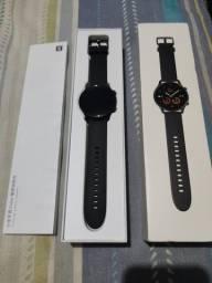 Xiaomi Mi Watch Color Preto - Tela 1.39 AMOLED - Bateria com 14 dias duração