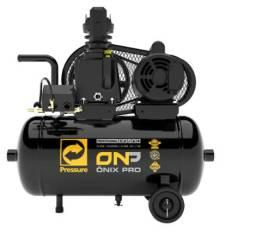 Compressor de Ar 7,6 Pés 120 Psi 28 Litros Monofásico 110/220V - Pressure