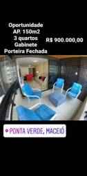 Ap. 150m2 com 3 Suítes Próximo de tudo na Ponta Verde