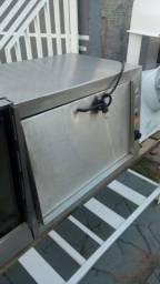 Forno elétrico profissional 65x45 em inox perfeito e garantia
