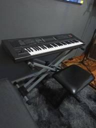 Roland Gw8 + base + softcase 3.000 estado de NOVO!!!!