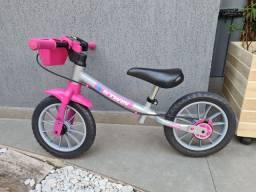 Bicicleta infantil bike de equilíbrio sem pedal