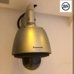 Instalação de câmeras de segurança com acesso remoto