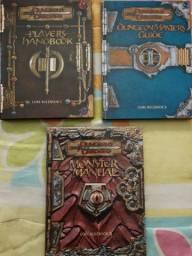 D&D 3.0 Livros Básicos