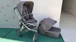 Carrinho de Bebê ABC Design Salsa3 c/ Moises