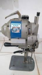 Máquina de corte industrial para confecção 8 polegadas