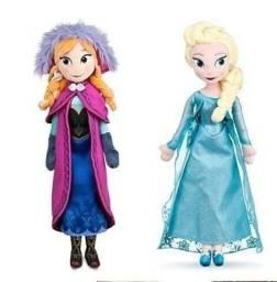 Frozen Kit de bonecas Elsa e Ana em pelúcia