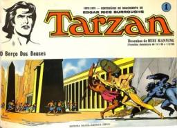Tarzan-kit Pranchas Dominicais Russ Manning-Ebal 1976