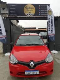 Título do anúncio: Renault Clio 1.0 Flex 2015 Completo!